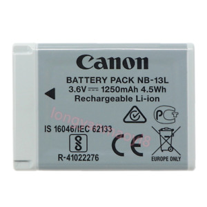 Original Canon NB-13L Battery for PowerShot G7X G5X G9X SX720 SX620 G7XII G9XII