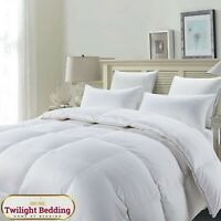 LUXURY HOTEL QUALITY DUCK FEATHER & Down Quilt Duvet Bedding All Sizes 13.5 Tog
