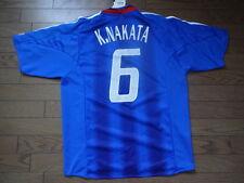 Japan #6 Koji Nakata 100% Original Soccer Football Jersey 2004/05 Home O