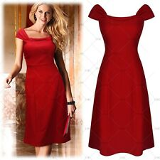 Women Vintage Elegant Casual Business Work Cocktail Evening Party Bodycon Dress