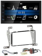JVC 2DIN Bluetooth MP3 AUX USB Autoradio für Nissan Juke (2010-2014)