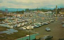 Photo. 1965-7. Abbotsford, BC Canada. Fraser Park Shopping Centre