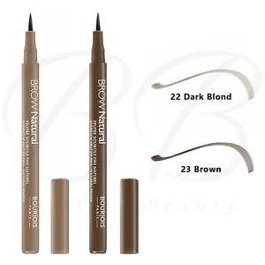 BOURJOIS Brow Natural Eye Brow Felt-Tip Pen - Natural Finish 1.5g *CHOOSE SHADE*