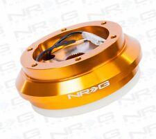 NRG Short Hub Steering Wheel Adaptor Civic /S2000 /Pr​elude /CRV / CRZ (GOLD)