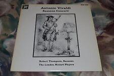 Antonio Vivaldi~Bassoon Concerti~Robert Thompson~The London Mozart Players