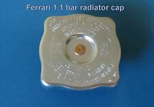 FERRARI 348 512M 512TR F40 & MONDIAL T RADIATOR HEADER TANK CAP 1.1 BAR