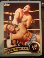 2011 Topps WWE Wrestling BLUE #87 Conor O'Brian #d 0933/2011