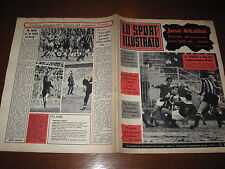 LO SPORT ILLUSTRATO GAZZETTA 1965/4 INTER VARESE CATANIA MILAN POSTER BOLOGNA