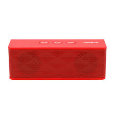 TECEVO T4 rot Wireless Bluetooth Lautsprecher Mini aufladbar tragbar Sound Bar