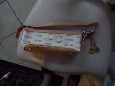 Cream and brown XOXO handbag