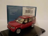 Model Car, Land Rover Discovery 4 - Red, 1/76 New