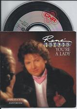 RENE FROGER - You're a lady CD SINGLE 3TR CARDSLEEVE (CNR) 1988 HOLLAND