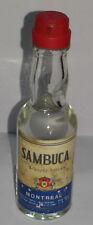 Mignon SAMBUCA MONTREAL  liquore delicato Sigillata con tappo in plastica