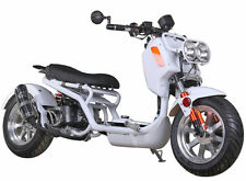 Ice Bear Newest Maddog 49cc Full Size Motor Bike Gas Scooter Moped Street Legal!