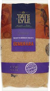Tate Lyle Demerara Pure Unrefined Sugar  3kg
