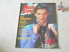 MUSIK SZENE Nr. 6 / Juni 1985 LINDENBERG WHAM! MARILLION DIRE STRAITS TUXEDOMOON