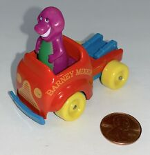 BARNEY MIXER Purple Dinosaur 1999 Diecast Truck Lyons Group Diecast Vehicle