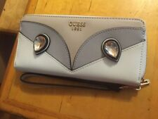 $50 Guess Women's wallet Kizzy white  Zip Around wristlet