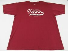 Vans - Off The Wall Original - XL Granate Camiseta - T190