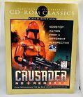 Crusader No Remorse Pc Big Box 1997 Computer Video Game Cd Rom Rare