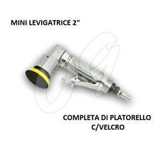 "MINI LEVIGATRICE AD ARIA COMPRESSA DISCO 50mm 2"" ROTORBITALE ORBITALE PNEUMATICA"