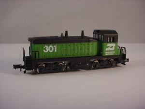 Rivarossi N Scale Burlington Northern Switcher Locomotive #301 – Tested