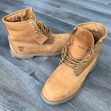 "Timberland 6"" Basic Waterproof Men's Wheat Leather Boot Size 13 M $149.99 MRSP"