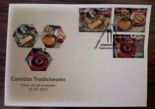 Honduras. Traditional foods UPAEP-2019 first day cover FDC
