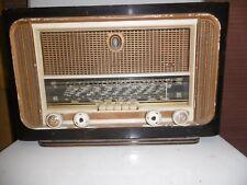 POSTE A LAMPES RADIO TSF DUCRETET - THOMSON EPAVE POUR PIECES