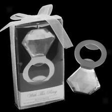 Boxed Diamante Wine Bottle Opener Corkscrew Bridal Shower Wedding Favours