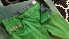 """Diesel Tepphar-A Slim - Carrot Green Jeans size 33 (actual 35"""" x 28"""")"""