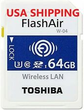 Toshiba FlashAir 64GB Class 10 SDXC Memory Card - (THNNW04W0640A6) Prusa Wifi