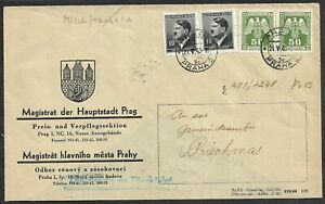 Bohemia and Moravia, german occupation WWII, Commercial letter 1943