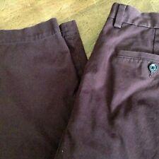 Banana Republic deep red cotton Aiden Chino pants 36 x 29