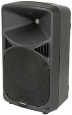 "10"" Clase D activo 2-WAY PA Altavoces limitador de pico del gabinete XLR 6.3MM Performance"
