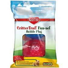 Kaytee Crittertrail Fun-Nels Bubble Plugs, Assorted Colors, Set Of 2