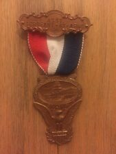 1916 Democratic National Convention Badge President Woodrow Wilson Sergeant Arms