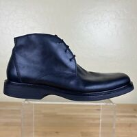 Johnston & Murphy Chukka Boots XC4 Waterproof Mens Size 9 M Black Leather