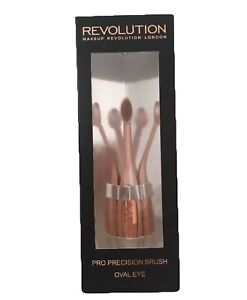 Revolution Pro Precision Make Up Brush Oval Eye - Eyeshadow Brush - New