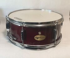 14� Groove Percussion Red Wooden Snare Drum - Great!