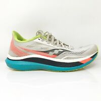Saucony Mens Endorphin Pro S20598-10 White Mutant Running Shoes Lace Up Size 9