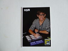 258 West.2 Promo cards Kevin McHale SDCCKEVIN11 + Mary Pat Gleeson Mystery pack