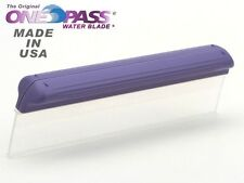 "Original Classic ONE PASS Water Blade! 2 pack 12"" Silicone T-Bar Edge, OP2012-2"