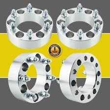 "4X 2"" 6Lug Wheel Spacers 6x5.5 For Chevy Adapters Silverado 1500 Tahoe Suburban"