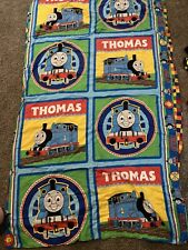 62x38 Thomas The Train Blanket Quilt Comforter Toddler/baby Bed