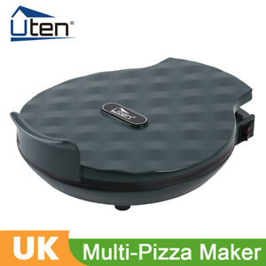 """Electric Pizza Maker Oven Fast Multifunction Compact Metal 12"""" 1200W"""