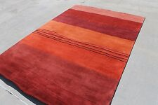 R17732 Gorgeous Contemporary Tibetan Woolen Area Rug 6'' x 9' Handmade in Nepal