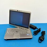 """HP EliteBook 2760p 12.1"""" i3-2350M 2.30GHz 4GB Ram 320GB HDD Win 10 Pro & Charger"""