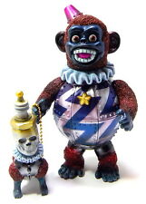 Kikkake Toys Iron monkey #2 David with Spark Plag Dog Japan Sofubi Kaiju MIB