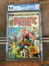 1973 Marvel Comics Fantastic Four #133 CGC graded 9.4